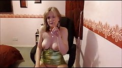 MILF masturbation and orgasm denial