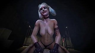 Hot Harley Quinn Rides A Dick