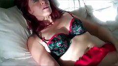 Naughty mature redhead woman homemade fuck