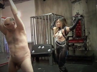 Asian mistress tube Whipped and whipped again by asian mistress