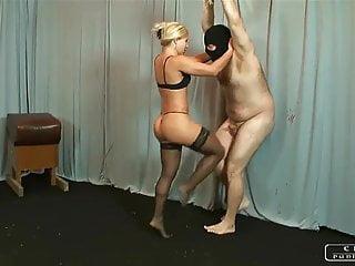Sexy ballbusting - Mistress zita sexy ballbusting knees my edit