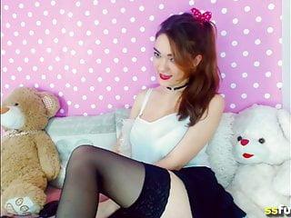 Honey bear dildo - Teddy bear hugging teen most naughty honey rubbing