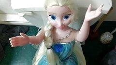 Elsa Frozen My Size Doll cum tribute