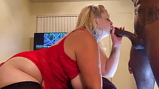 White Woman Sucking Strong Dick