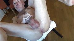 Lady fuck Ulf Larsen with strap-on