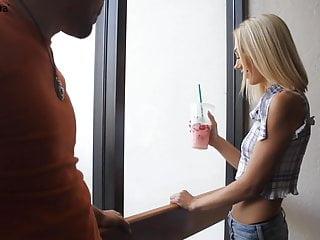 Fuck asian slut Blonde slut fuck asian guy after breakup with boyfriend