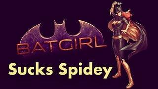 Batgirl Sucks Spidey