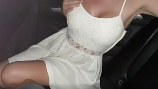 fucking my boss' wife in the parking lot of a shopping center