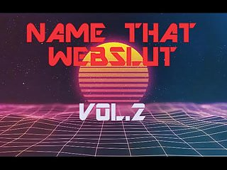 Funny names for going pee - Name that webslut game vol 2