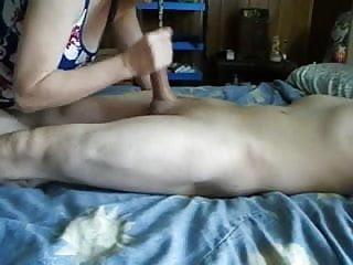 Cum swallow percentage Mature wife handjob and cum swallow-cfnm