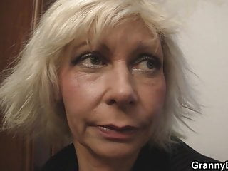 Old women cunt videos - He doggystyles blonde old women