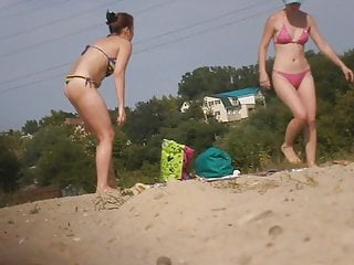 Girls on beach voyeur Girls on beach 62