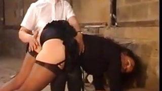 Big butt milf spanking