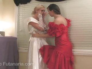 Wedding clothes lesbian Futanaria - wedding