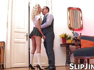 Senior british milfs in nylons Lucky british senior shagging beautiful young schoolgirl
