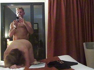 Helen gay bessant Helen gets her ass fucked in front of the hotel window
