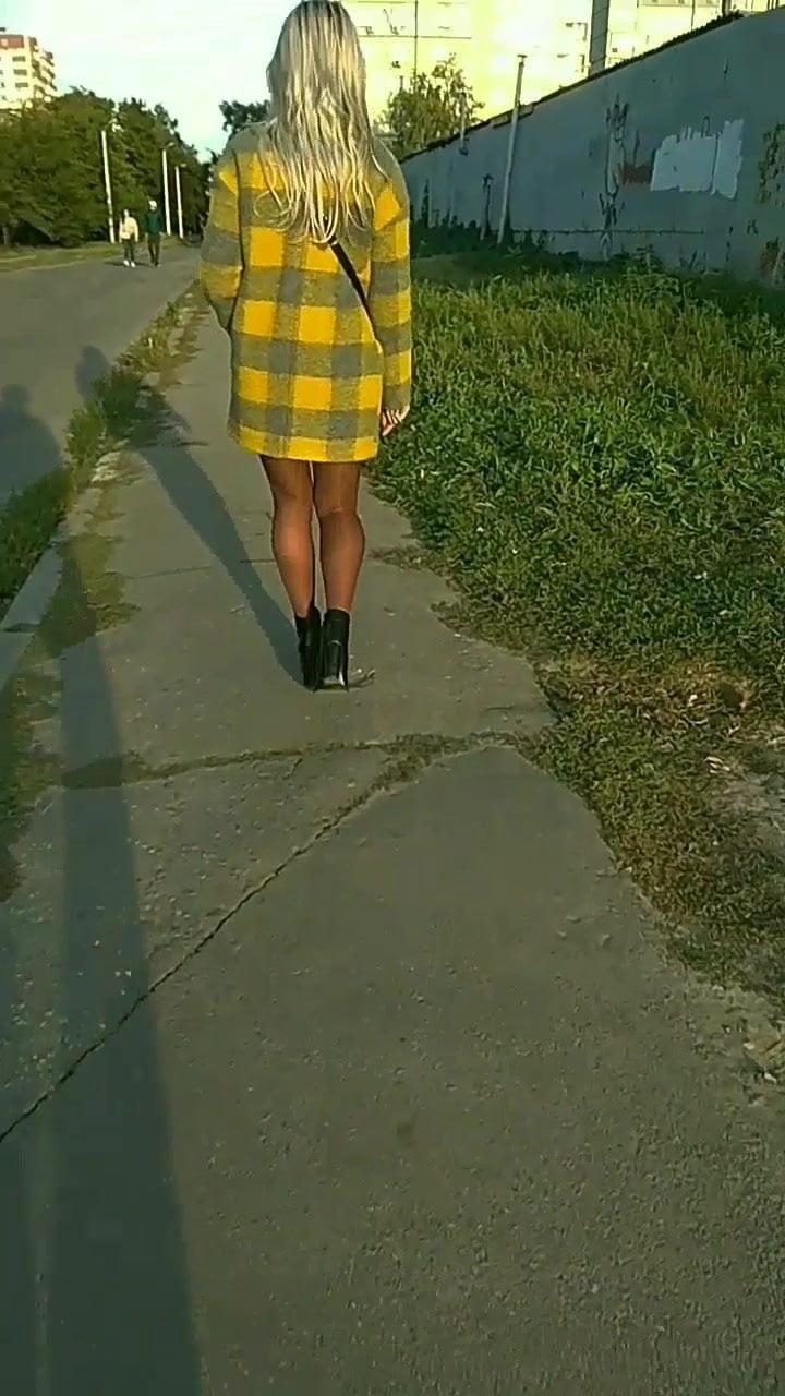 Amateur High Heels Stockings