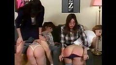 panties wedgie spanking