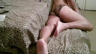 Watch My Legs While I Jerk Off