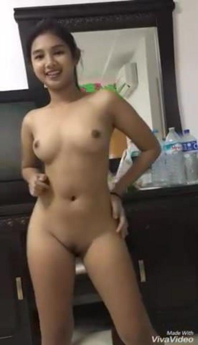 Teen Girl Strip Dancing