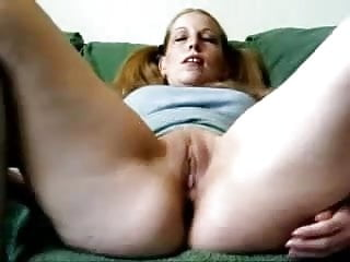 Prolapse pussy Blonde amateur playing with ass and showing nice prolapse