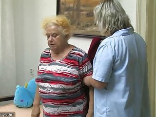 Chubby horny pussy woman Mature woman using dildo on chubby granny