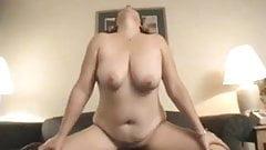 Busty Mature Wife Milks BBC Dry