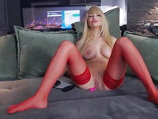 Red tube sexy mom - My sexy step mom in red stockings