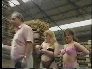 Naked wrestling on Naked lesbian skank wrestling pt2