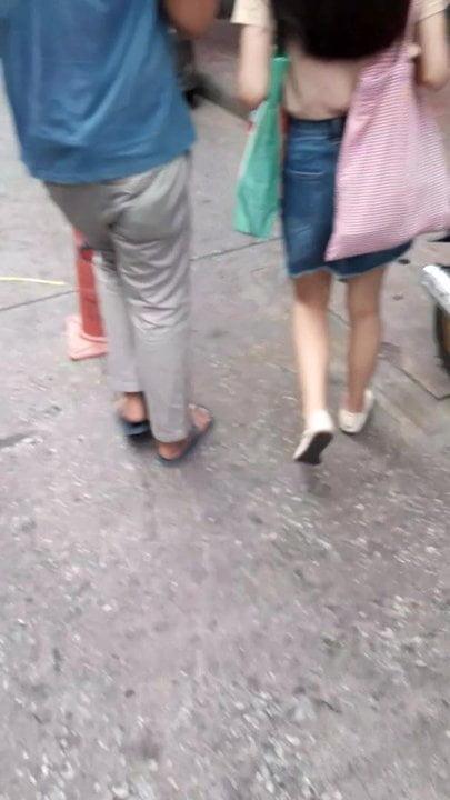 Thai sexy legs Bangkok shoes  hair sexy