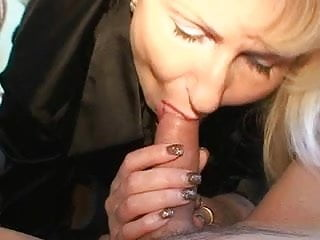 Milfs nylons Blond german milf - fucks a guy with her nylons