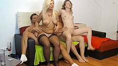 Filming Hot Group Action With Hot Adult Ladies