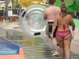 Chubby bikini girls Chubby jiggle ass in bikini