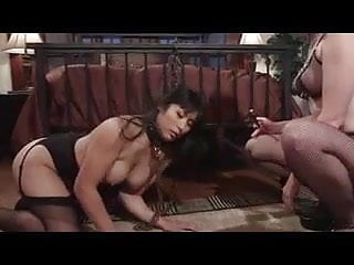 Sex pets Hot redhead lesbian plays with her asian pet