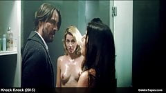 Ana de Armas & Lorenza Izzo nude threesome celeb porn