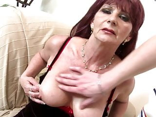 Amateur video bangcock whore Granny super whore takes young big cock