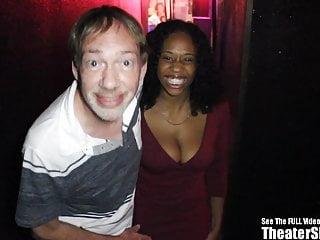 Bang bib black bukkake facial free gang tit Beautiful black tits happy theater gang bang