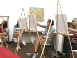 Adult concentration span Art class cant concentrate because cock