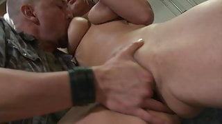 How pleasurable it is getting your tits fondled while getting slammed from behind