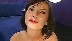 German Lina Bukkake facial cum shots