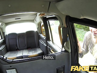 Vintage car news - Fake taxi new driver fucks hot blonde passengers wet pussy