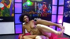 Luna corazon receiving cocks and gets bukkakes