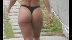 Ultimate Jaime Koeppe walking - Fat PAWG ass in slow motion