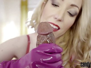 Dish network porn channels Candy may - polishes cockhead with dish gloves