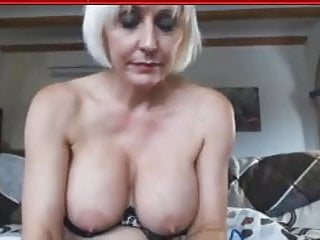 Horney moms with big tits - Horney blonde mom