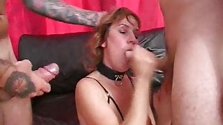 Wendy Taylor gets fucked by two studs