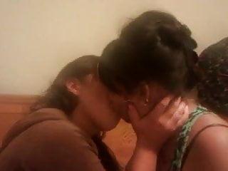 Sensitive lesbian kiss - Lesbian kiss - 3