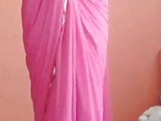 Saree strip tied Indian saree girl nude strip
