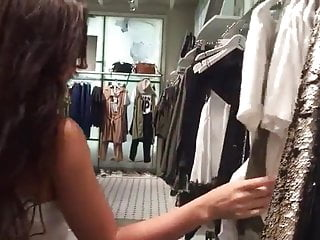 Force lesbian ass licking - Lesbian ass licking in the mall dressing room