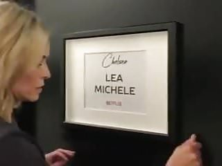 Chelsea handler sex tape real Chelsea handler picks up lea michele